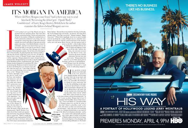 Article Preview: IT'S MORGAN IN AMERICA, April 2011 2011 | Vanity Fair
