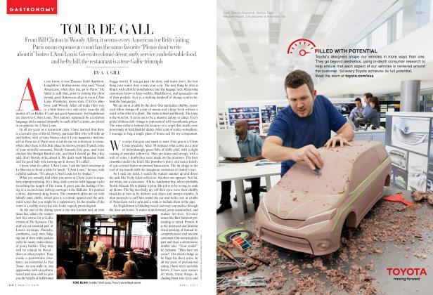 Article Preview: TOUR DE GALL, April 2011 2011 | Vanity Fair