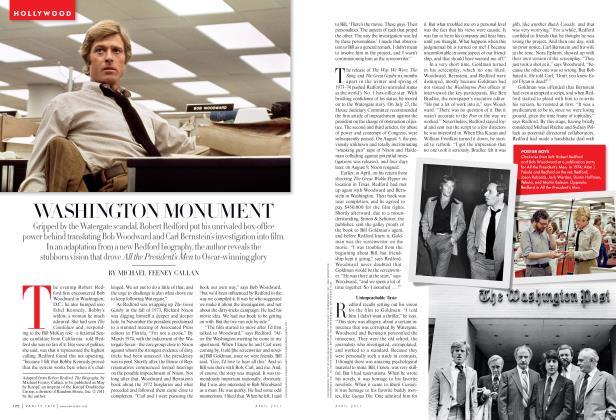 Article Preview: WASHINGTON MONUMENT, April 2011 2011 | Vanity Fair