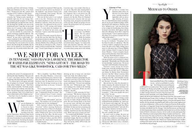 Article Preview: MERMAID TO ORDER, April 2011 2011 | Vanity Fair