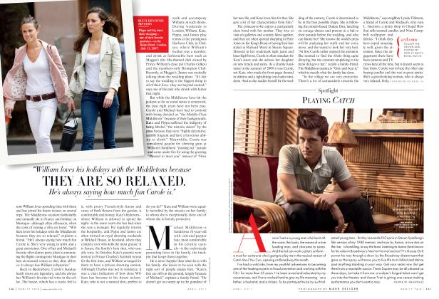 Article Preview: PLAYING CATCH, April 2011 2011 | Vanity Fair