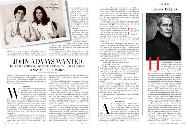 Article Preview: ROCKIN' ROLLINS, April 2011 2011   Vanity Fair