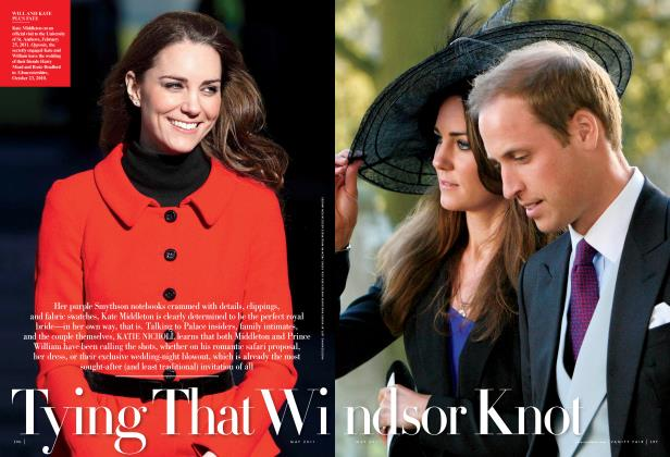 Article Preview: Tying That Windsor Knot, May 2011 2011 | Vanity Fair
