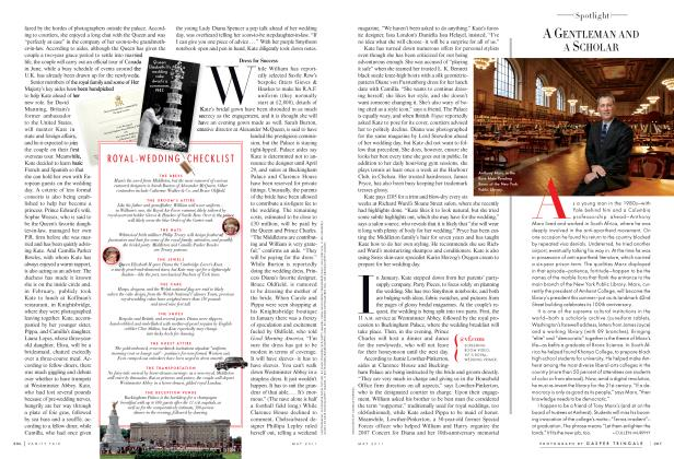 Article Preview: A GENTLEMAN AND A SCHOLAR, May 2011 2011 | Vanity Fair