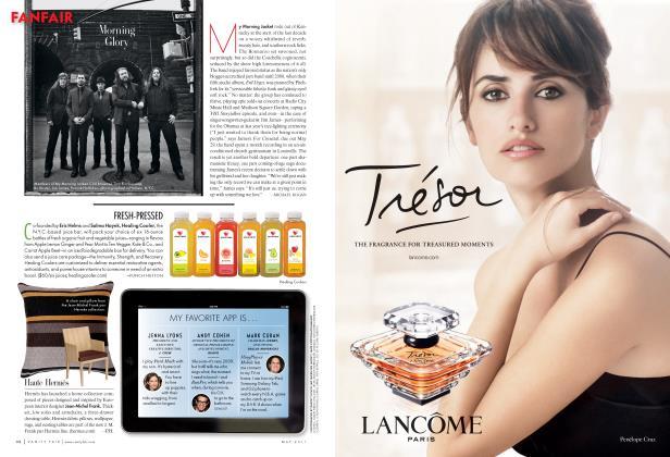 Article Preview: MY FAVORITE APP IS..., May 2011 2011 | Vanity Fair