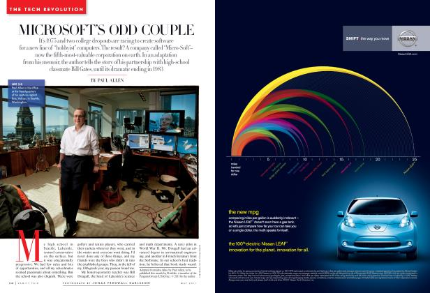 Article Preview: MICROSOFT'S ODD COUPLE, May 2011 | Vanity Fair