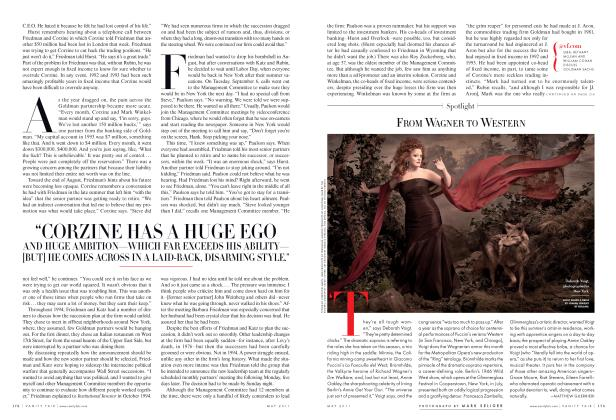 Article Preview: FROM WAGNER TO WESTERN, May 2011 2011 | Vanity Fair