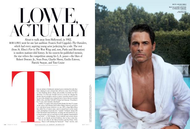 Article Preview: LOWE ACTUALLY, May 2011 2011 | Vanity Fair