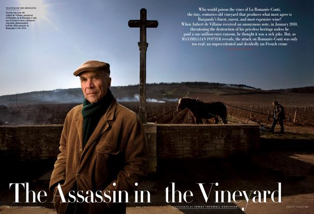Article Preview: The Assassin in the Vineyard, May 2011 | Vanity Fair