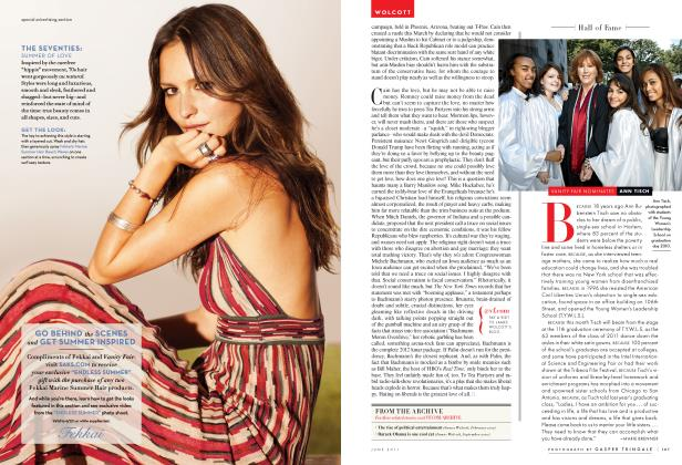 Article Preview: VANITY FAIR NOMINATES ANN TISCH, June 2011 2011   Vanity Fair