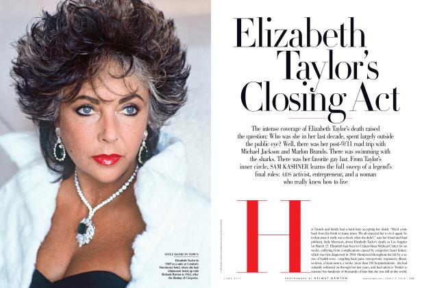 Article Preview: Elizabeth Taylor's Closing Act, June 2011 2011 | Vanity Fair
