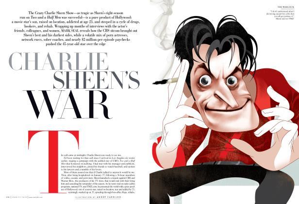 Article Preview: CHARLIE SHEEN'S WAR, June 2011 | Vanity Fair