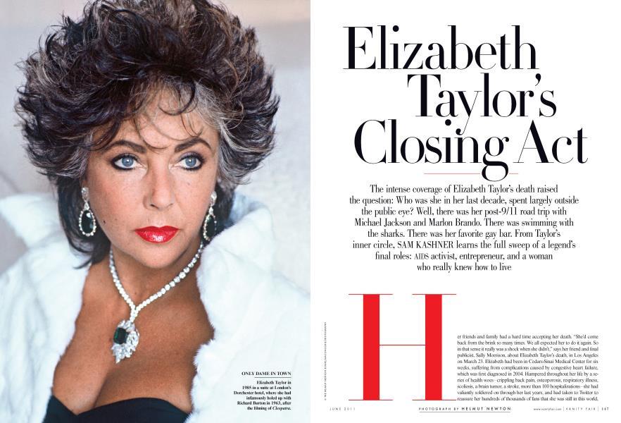 Elizabeth Taylor's Closing Act