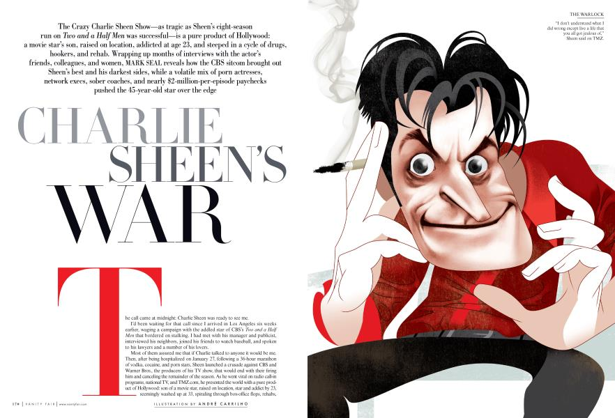 CHARLIE SHEEN'S WAR