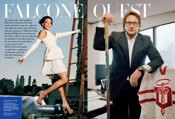 Article Preview: FALCONE QUEST, July 2011 2011 | Vanity Fair