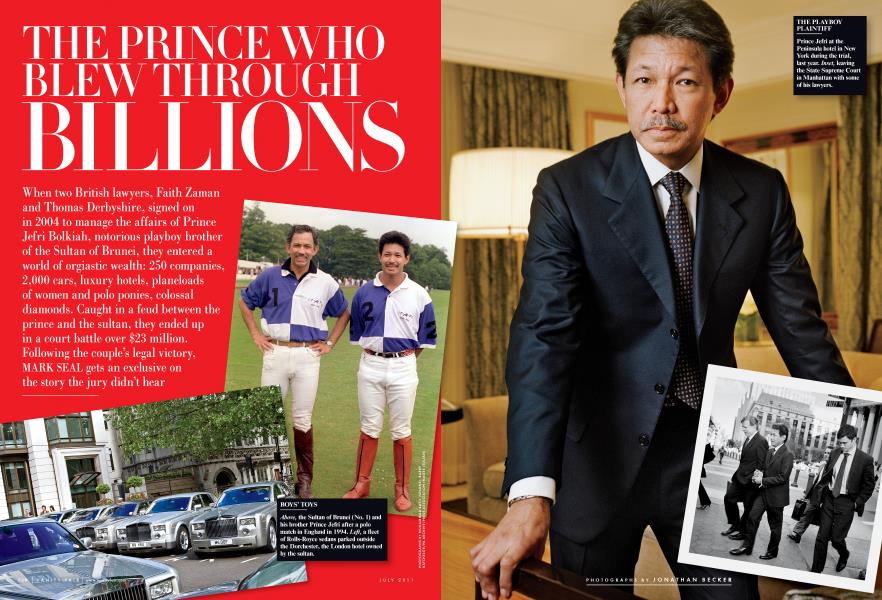 THE PRINCE WHO BLEW THROUGH BILLIONS