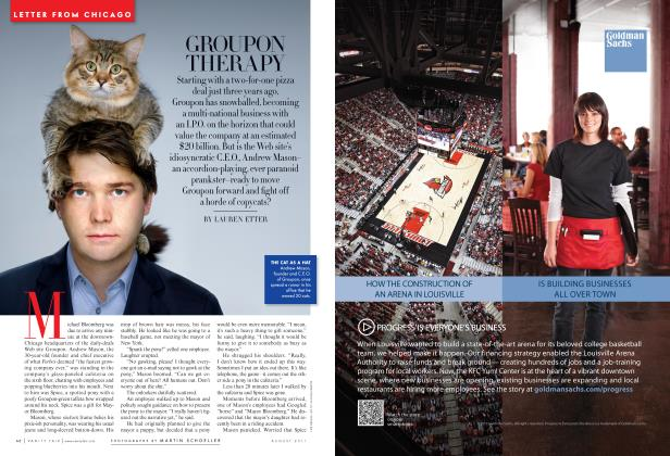 Article Preview: GROUPON THERAPY, August 2011 | Vanity Fair