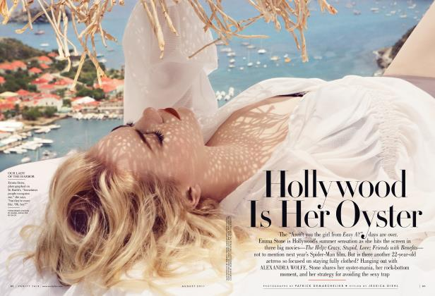Article Preview: Hollywood Is Her Oyster, August 2011 | Vanity Fair
