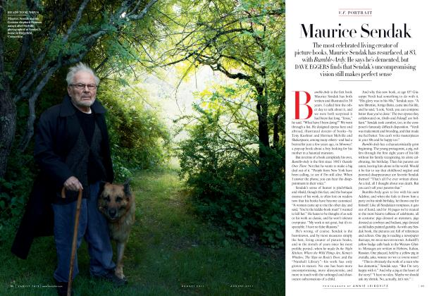 Article Preview: Maurice Sendak, August 2011 2011 | Vanity Fair