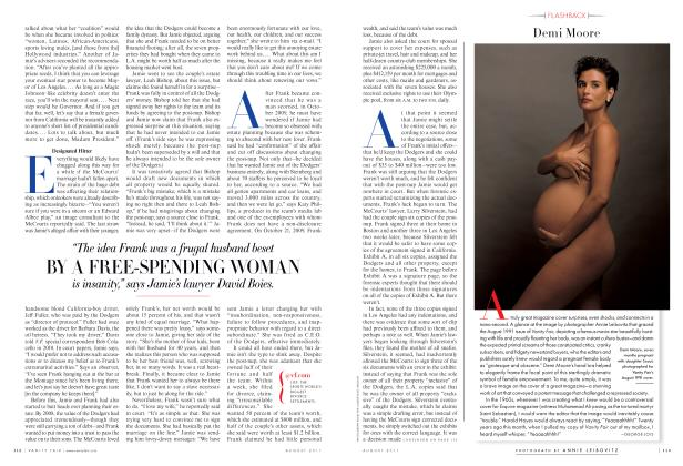 Article Preview: Demi Moore, August 2011 2011 | Vanity Fair