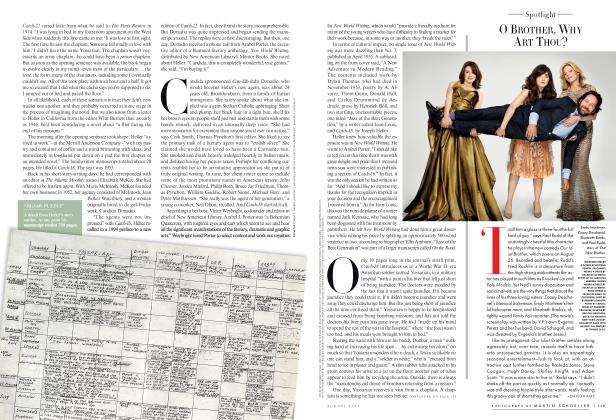 Article Preview: O BROTHER, WHY ART THOU?, August 2011 2011   Vanity Fair