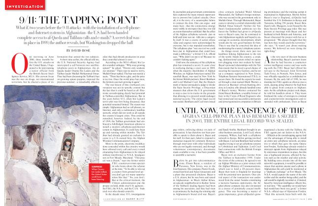 Article Preview: 9/11: THE TAPPING POINT, September 2011 | Vanity Fair