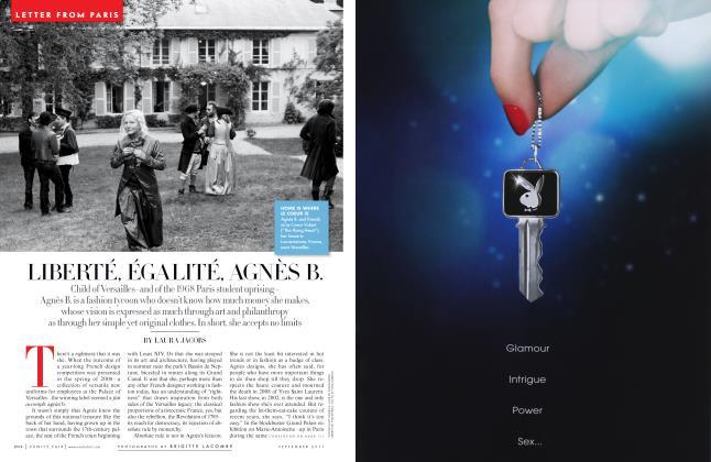 Article Preview: LIBERTÉ, ÉGALITÉ, AGNÈS B., September 2011 | Vanity Fair