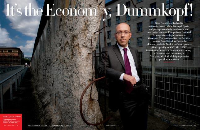 It's the Economy, Dummkopf!