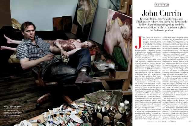 Article Preview: John Currin, September 2011 2011 | Vanity Fair