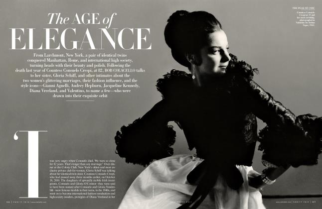 Article Preview: The AGE of ELEGANCE, September 2011 | Vanity Fair