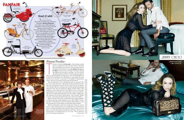 Article Preview: Poisson Paradise, September 2011 2011 | Vanity Fair