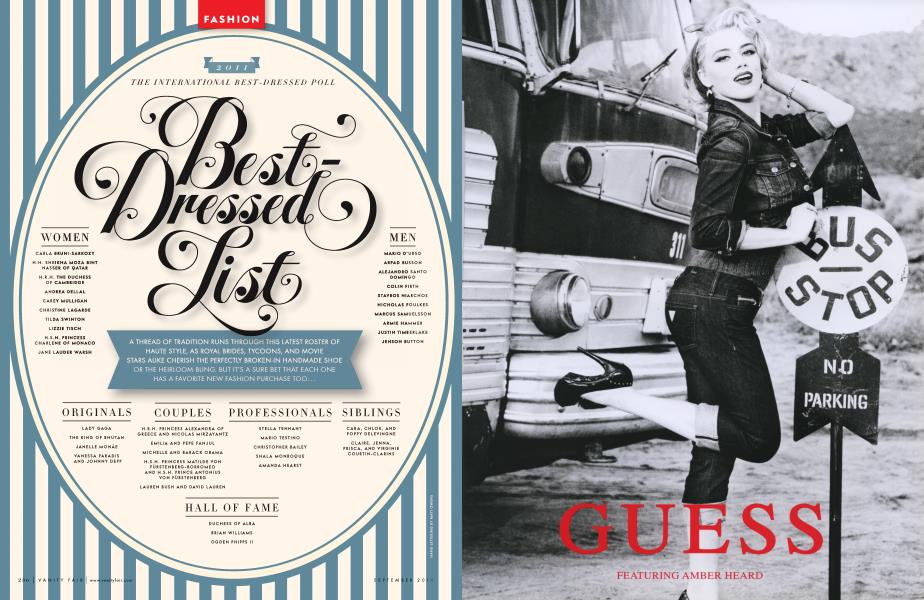 2011 THE INTERNATIONAL BEST-DRESSED POLL Best-Dressed List