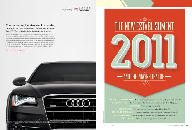 Article Preview: THE NEW ESTABLISHMENT 2011 AND THE POWERS THAT BE, October 2011 | Vanity Fair