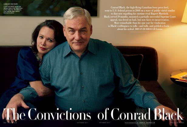 Article Preview: The Convictions of Conrad Black, October 2011 | Vanity Fair