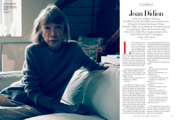 Article Preview: Joan Didion, October 2011 2011 | Vanity Fair