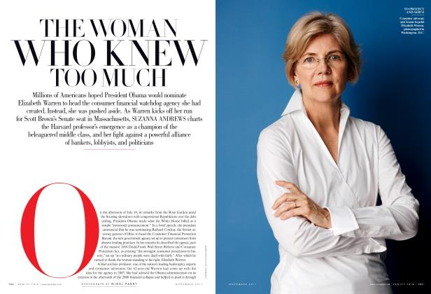 Article Preview: THE WOMAN WHO KNEW TOO MUCH, November 2011 2011 | Vanity Fair