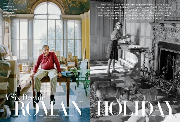 Article Preview: A Six-Decade ROMAN HOLIDAY, November 2011 | Vanity Fair