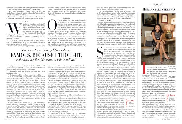 Article Preview: HER SOCIAL INTERIORS, November 2011 2011 | Vanity Fair