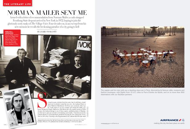 Article Preview: NORMAN MAILER SENT ME, November 2011 | Vanity Fair