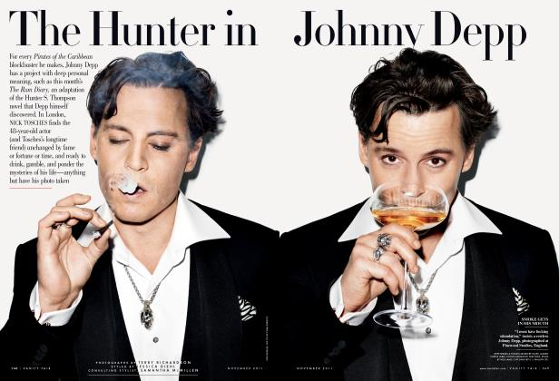 Article Preview: The Hunter in Johnny Depp, November 2011 | Vanity Fair
