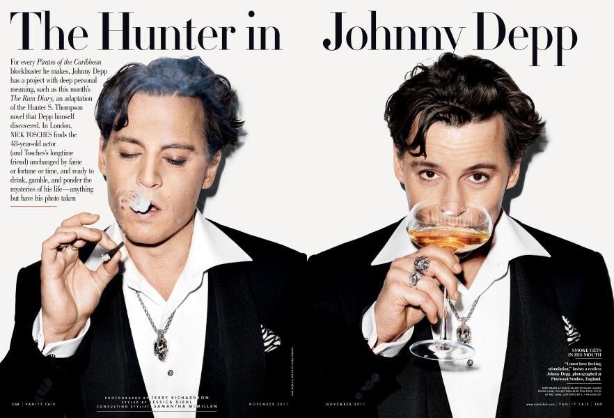 The Hunter in Johnny Depp