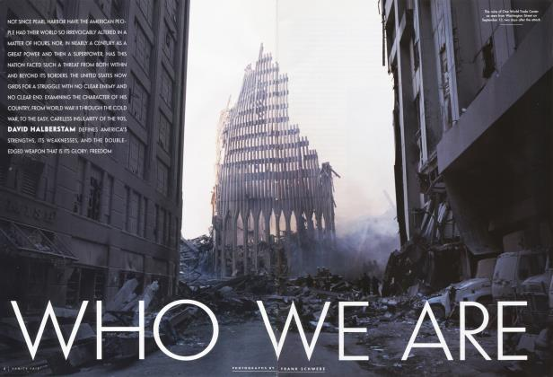 Article Preview: WHO WE ARE, November 2011 | Vanity Fair