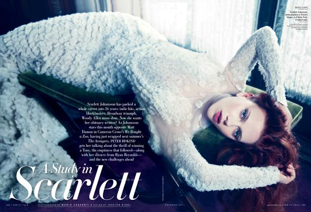 Article Preview: A Study in Scarlett, December 2011 2011 | Vanity Fair