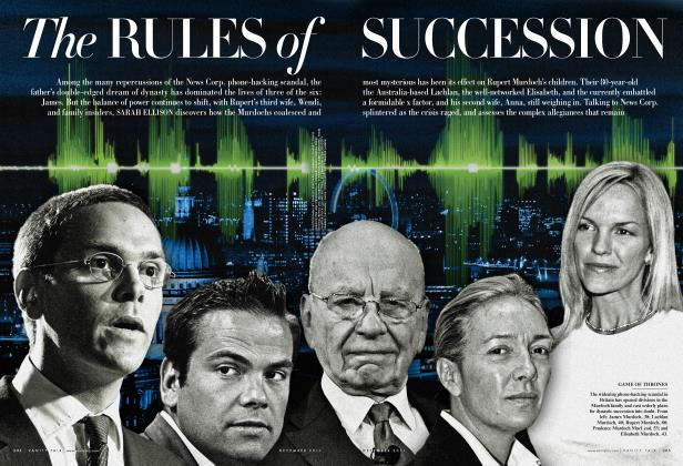 Article Preview: The RULES of SUCCESSION, December 2011 2011 | Vanity Fair