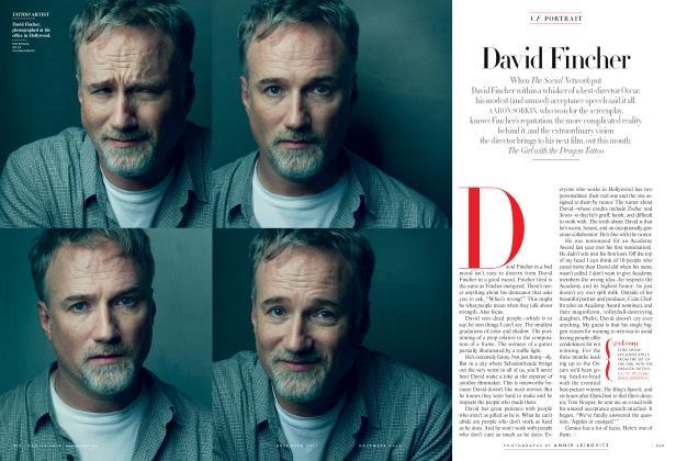 Article Preview: David Fincher, December 2011 2011 | Vanity Fair