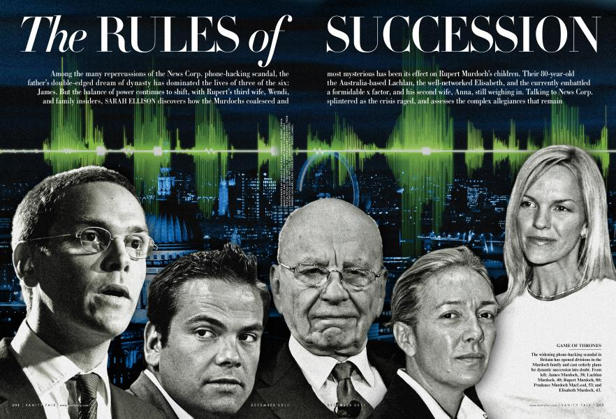The RULES of SUCCESSION