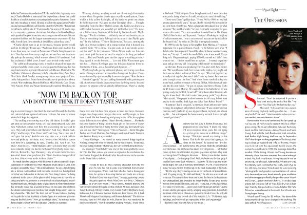 Article Preview: THE OBSESSION, Winter 2012 2011 | Vanity Fair