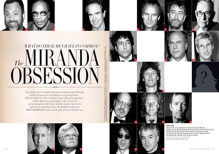 The MIRANDA OBSESSION