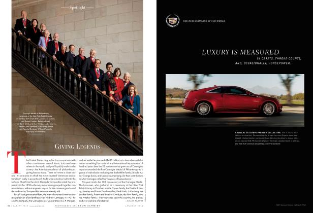 Article Preview: GIVING LEGENDS, January 2012 2012 | Vanity Fair