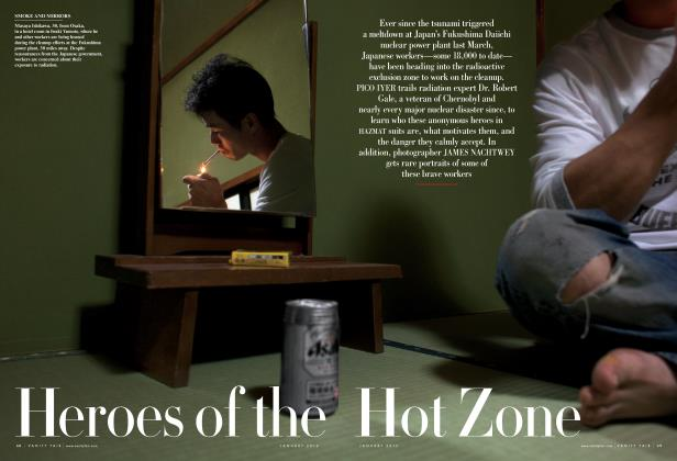 Article Preview: Heroes of the Hot Zone, January 2012 2012 | Vanity Fair